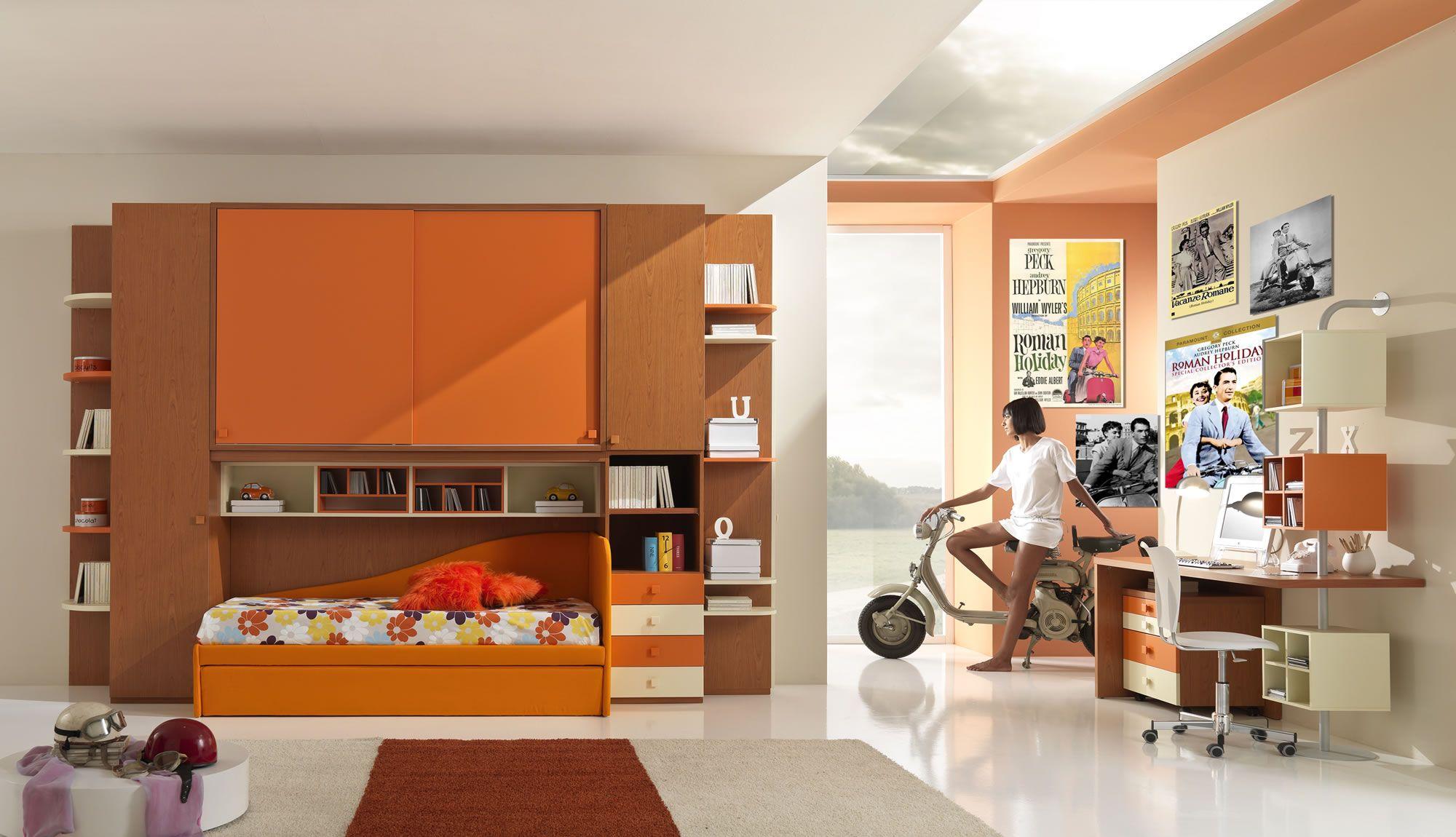 Cucina Ciliegio E Panna gsg | ( w36 ) ponte ciliegio - papaya - panna l. 376 - h