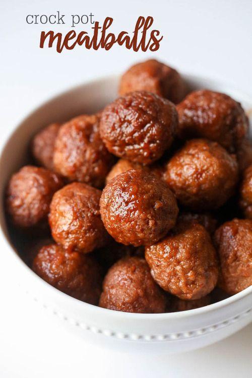 Crock Pot MeatballsReally nice recipes. Every hour.Show me what  Mein Blog: Alles rund um die Themen Genuss & Geschmack  Kochen Backen Braten Vorspeisen Hauptgerichte und Desserts