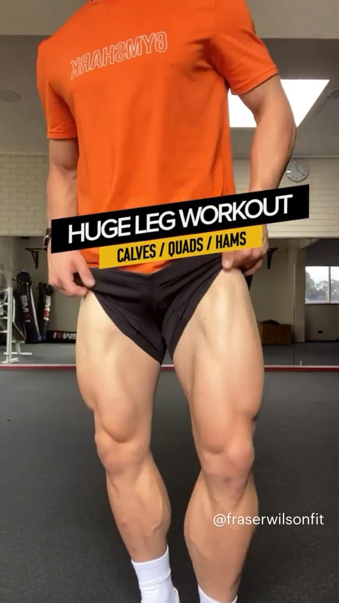 HUGE LEG WORKOUT