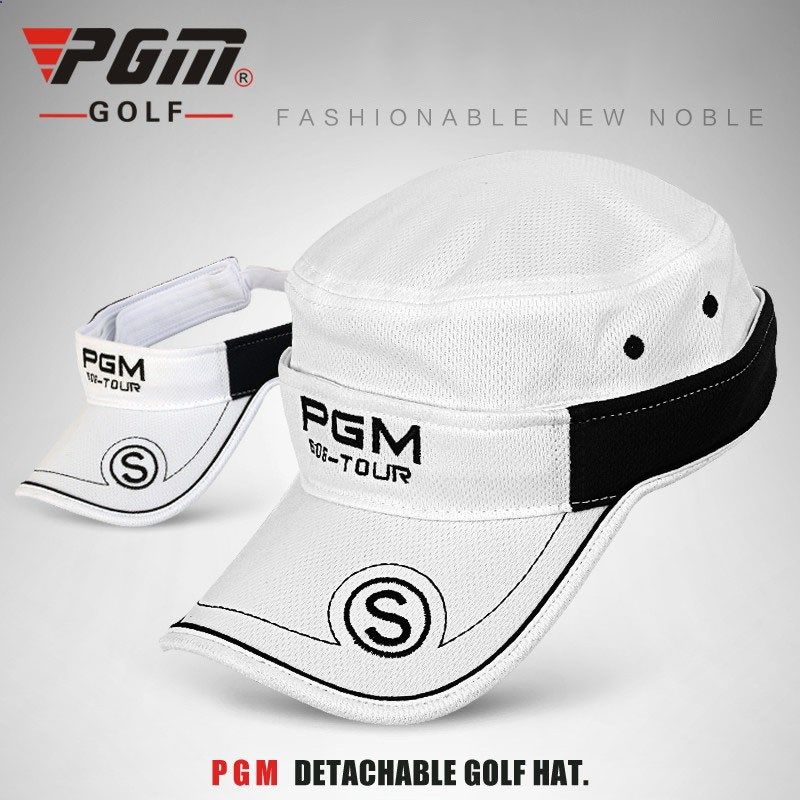 b4d4215edcb 012312 Genuine Unisex Detachable Golf Hat Male Model Womens Golf Hat Cotton  Breathable Comfortable Sunscreen and UV Cap 2016