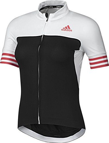 9161855f2 Adidas Womens Cycling Jersey Adistar CD Zero 3 Short Sleeve BlackWhite      Want additional info  Click on the image.