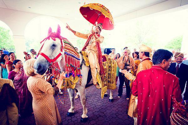 Image result for Baraat (Wedding procession)