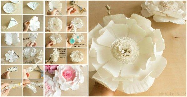 DIY Flowers Using Paper Plates  sc 1 st  Pinterest & DIY Flowers Using Paper Plates | Crafts | Pinterest | Craft ...