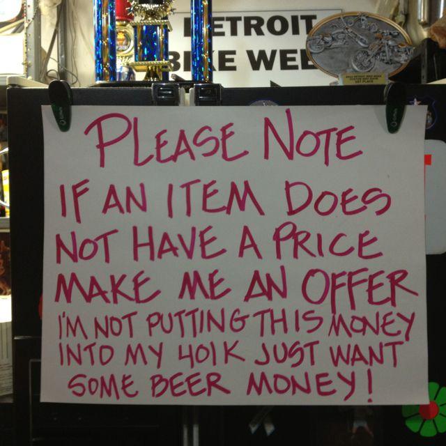 Best Garage Sale Sign Ever Garage Sale Signs For Sale Sign