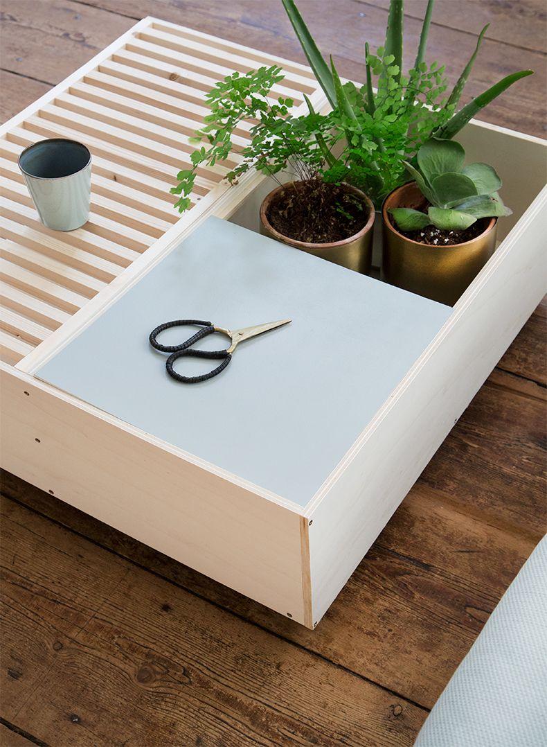 Diy Table Basse Modulable Mamie Boude X Leroy Merlin 4 For The  ~ Leroy Merlin Cajas Organizadoras