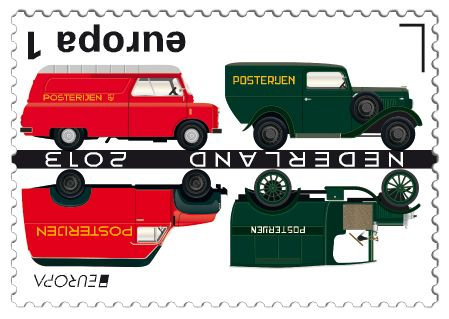 Bedford  CA (1960); Opel Blitz (1956); Opel P4 (1936); GMC 2,5t (1918)    http://collectclub.postnl.nl/pages/detail/s1/10220000001851-2-21010000000080.aspx