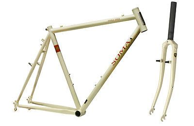 Bicycle Parts Soma Double Cross Frame Fork Ivory 52cm Road