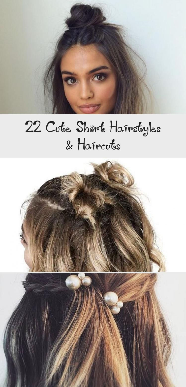 22 Cute Short Hairstyles & Haircuts #shorthairstyles #shorthair #hairstyles #eas…  22 Cute Short Hairstyles & Haircuts - Moyiki Sites