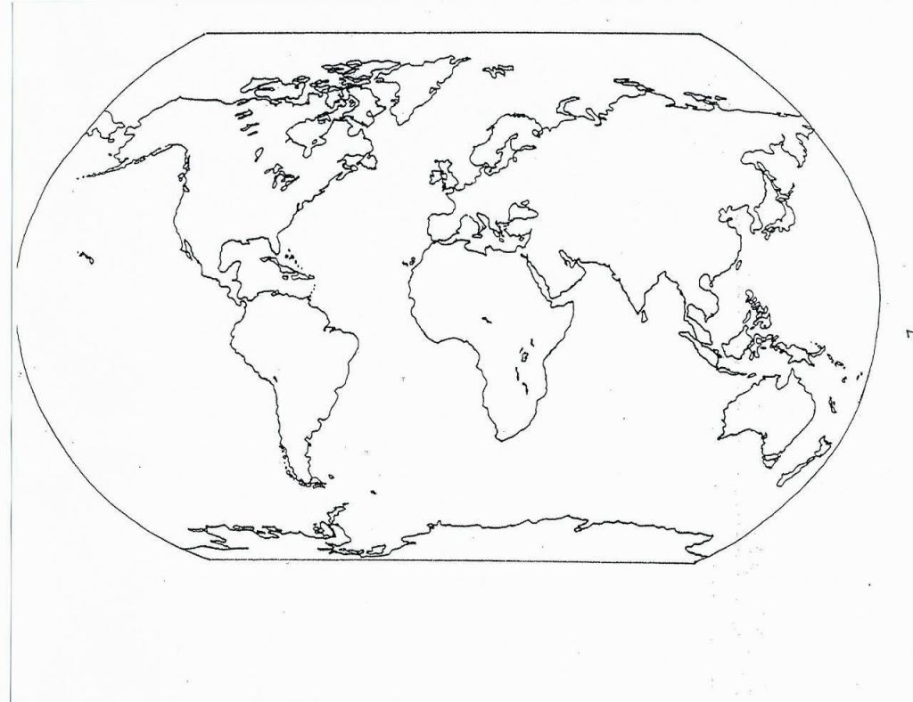 Coloring Pages Of The World