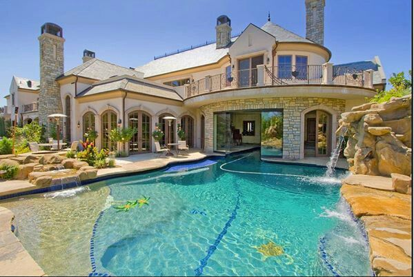 Epic House And Pool Dream House Future House Mansions