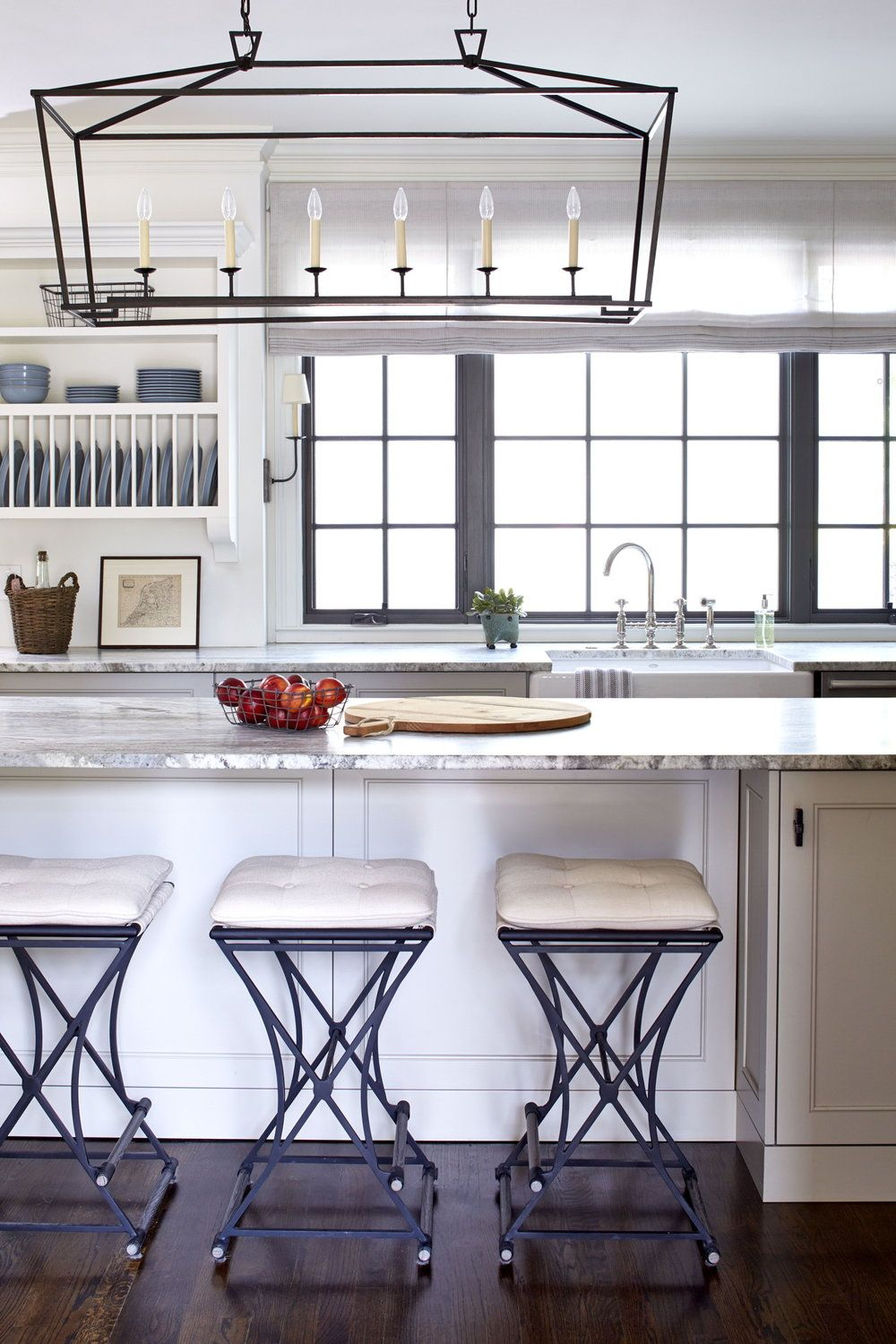 Clean. Custom. Functional. A complete renovation of the kitchen ...