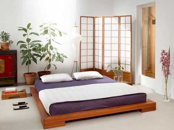 Japanese bedroom interior - Somier japones ...