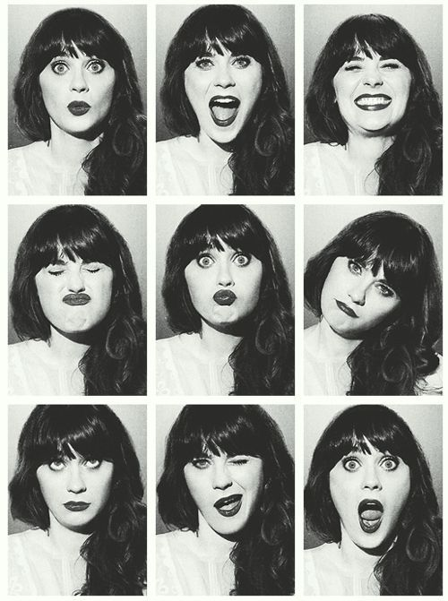 Zooey Deschanel - because one picture just isn't enough: