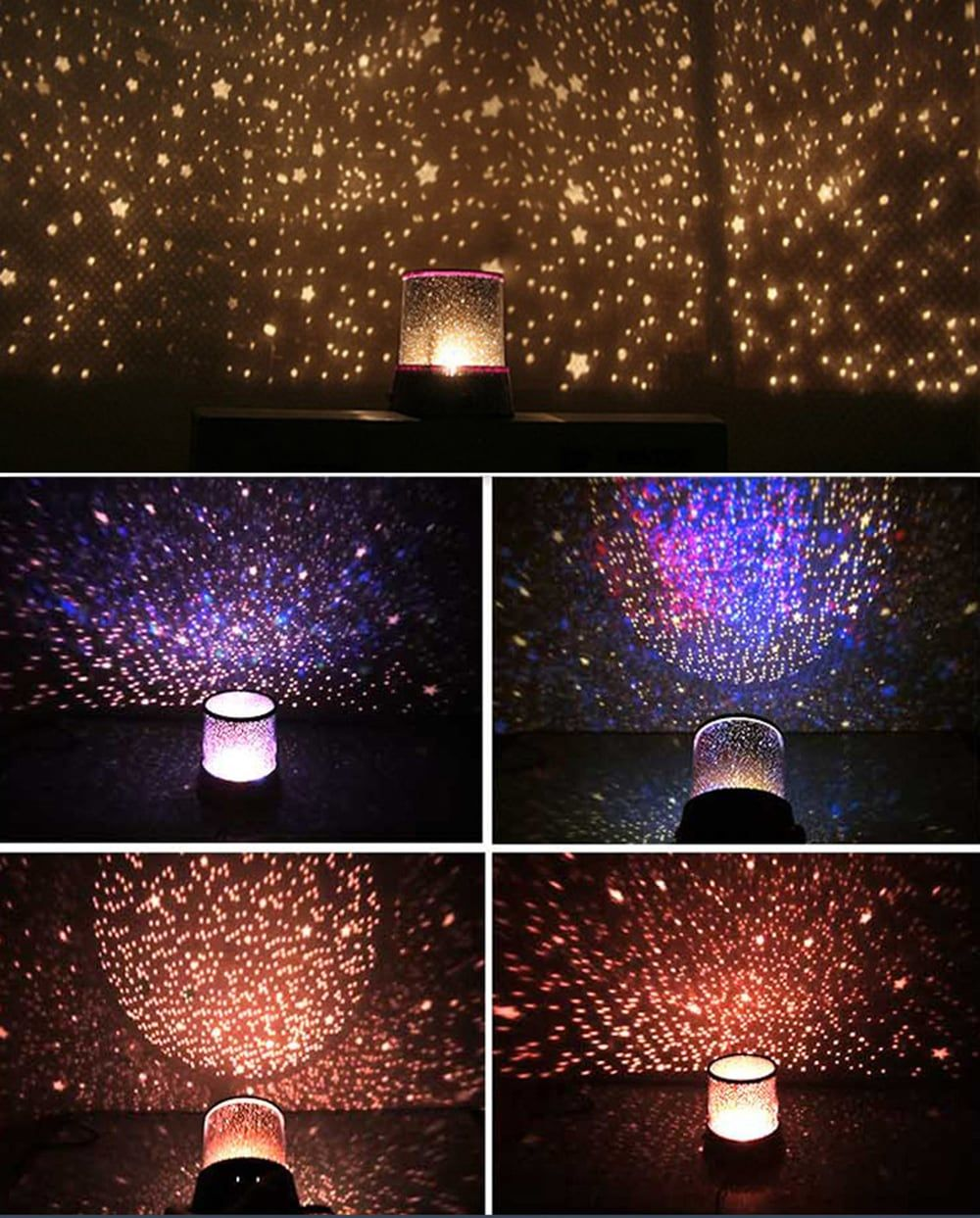 Brelong Colorful Starry Led Light Sky Star Lamp For Christmas Star Lamp Starry Ceiling Night Light