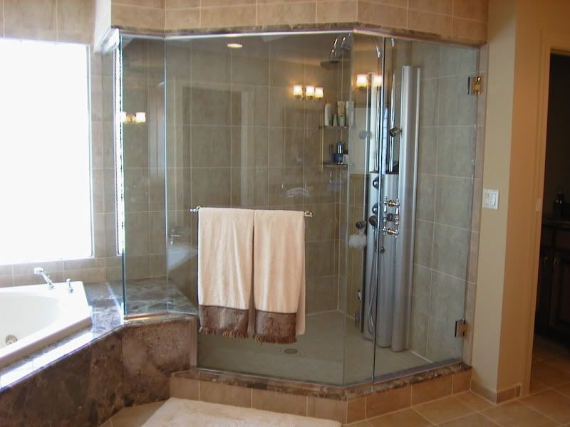 Unique Showers For Bathrooms Custom Shower Glass Gordons Glass The Perfect Bathroom