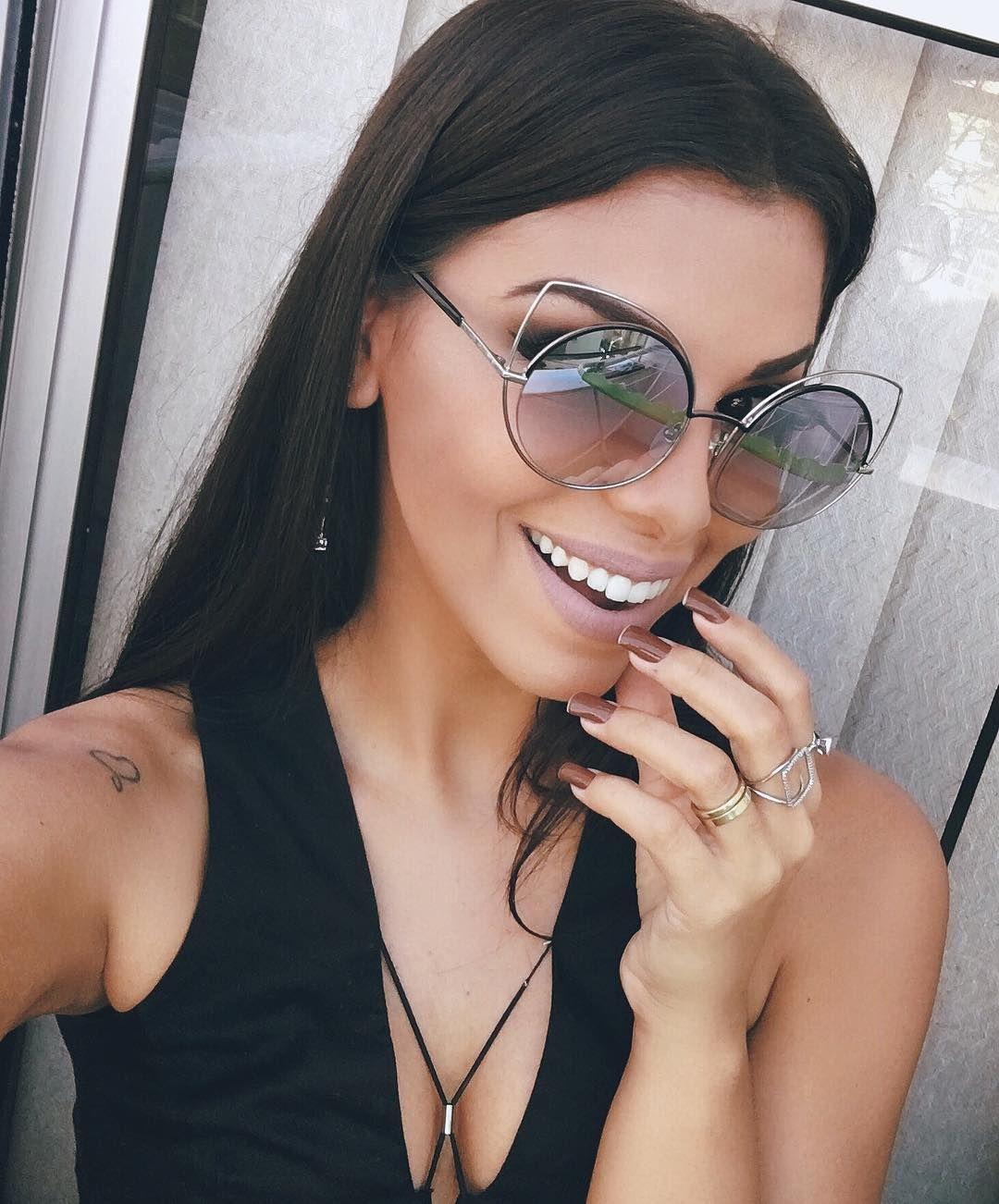 Óculos Da Moda, Óculos De Sol Feminino, Modelos De Óculos, Oculos De Sol 962d2d6728