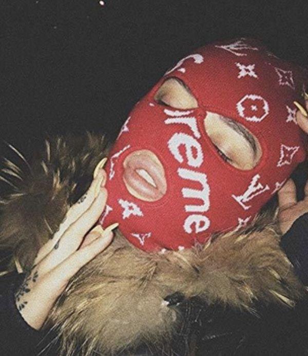 Lv Supreme Ski Mask For Sale In Aurora Co Offerup Ski Mask Fashion Bad Girl Wallpaper Ski Mask