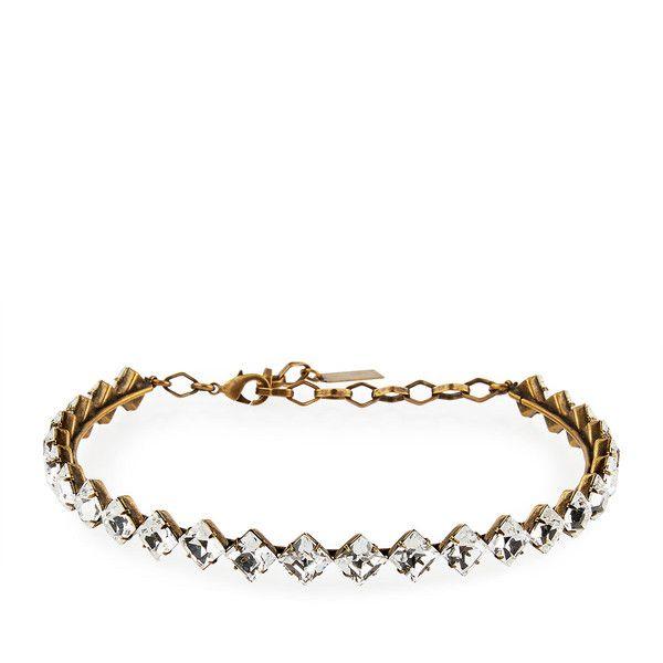 Auden Drew Crystal Choker Necklace RGKYJPaN7p