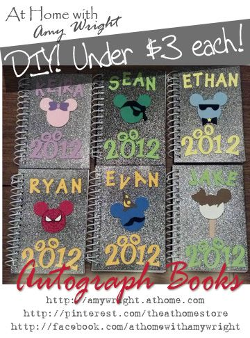 Where to find autograph books