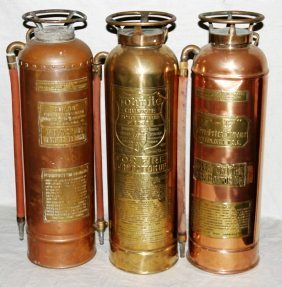 Copper Fire Extinguishers