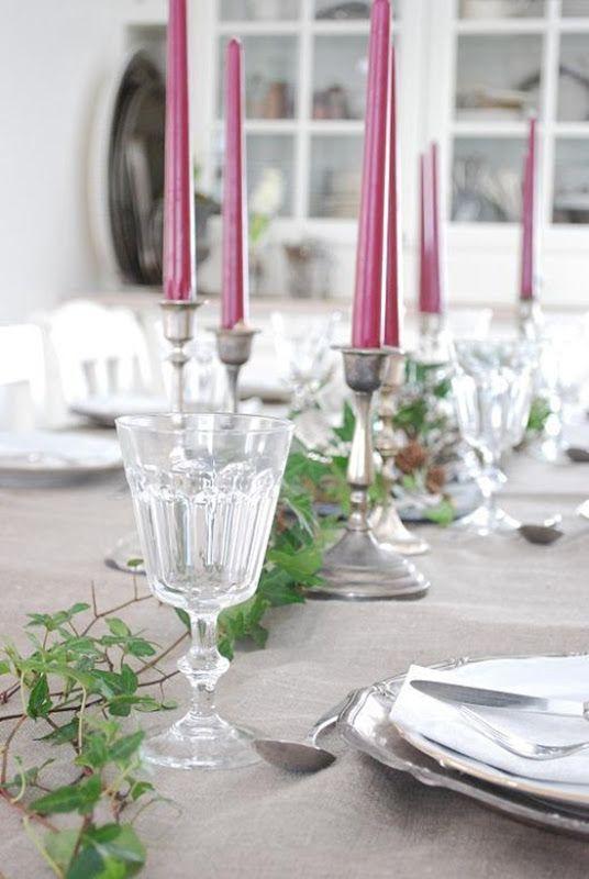 X-mas table decoration