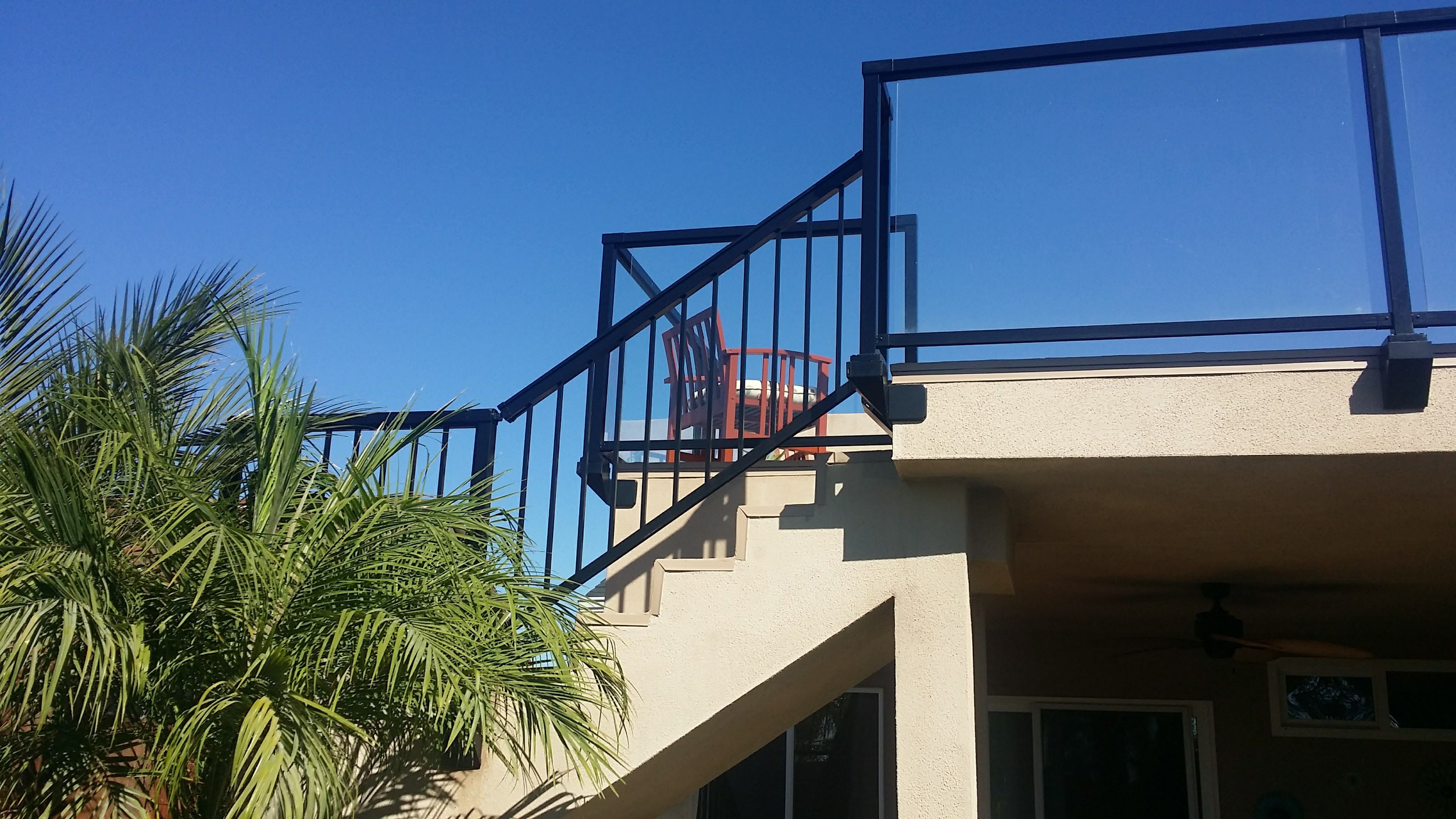 Peak Facia Deck Railing Glass   Deck railings, Home depot ...