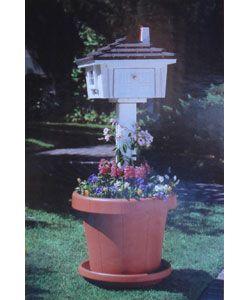Mailbox Planter Garden Post Bo Pots Herb