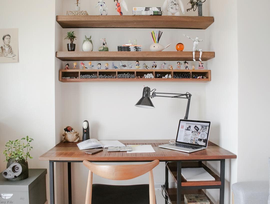 My new home office set up featuring HIRAYA custom working desk ...