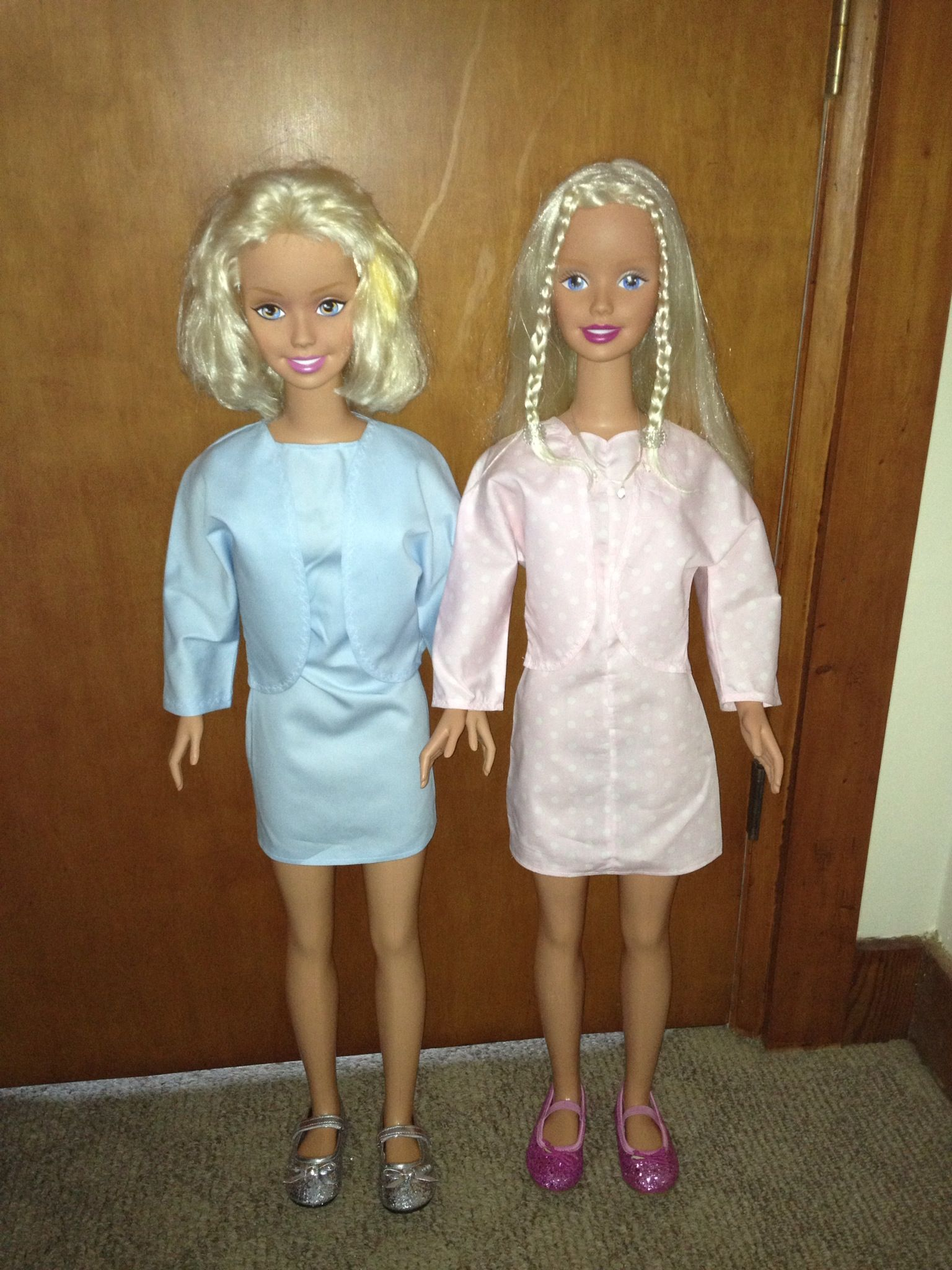 My Size Barbie Doll Clothes Made From My Size Barbie Pattern