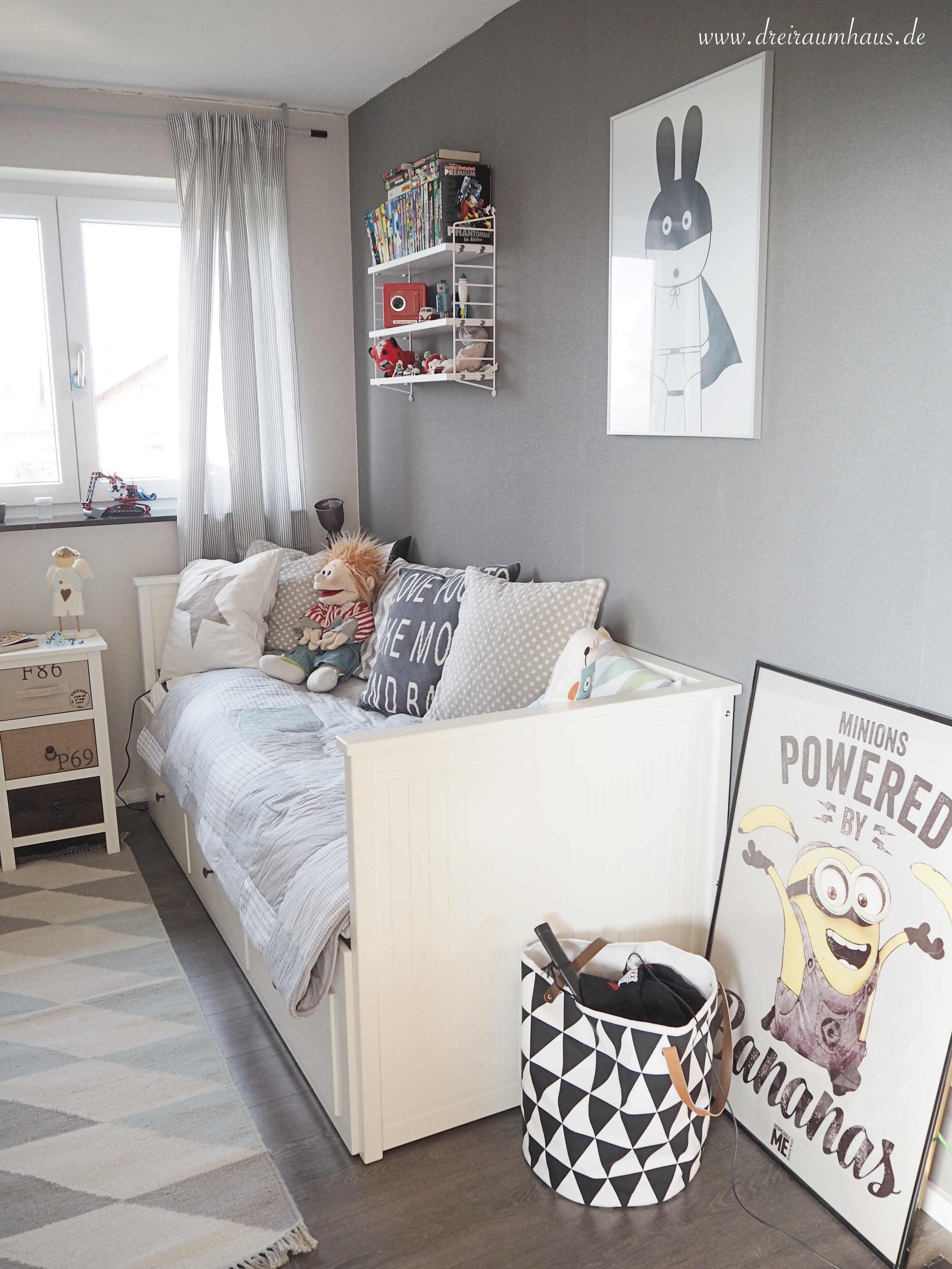 Dreiraumhaus Kinder Räume Kinderraeume Kinderzimmer Roomtour Ikea Hemnes