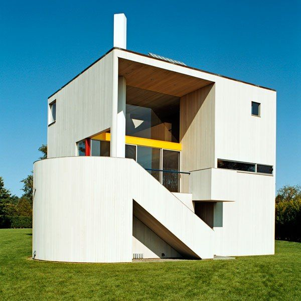 The most innovative houses of the last century for Last name pictures architecture