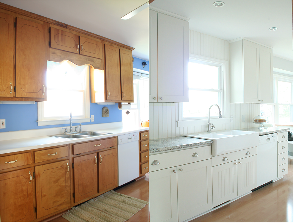 farm kitchen budget remodel before after photos budget kitchen remodel cheap kitchen on kitchen renovation id=55415