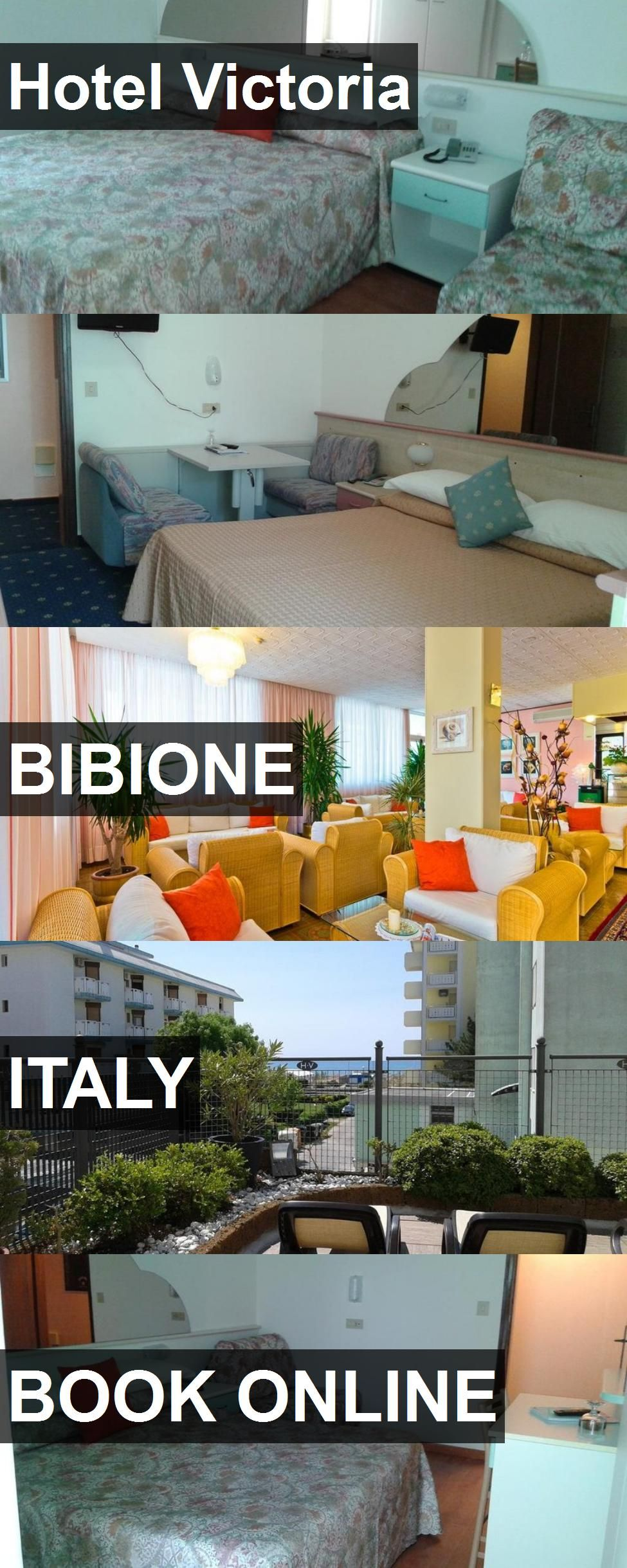 Hotel Victoria in Bibione, Italy. For more information