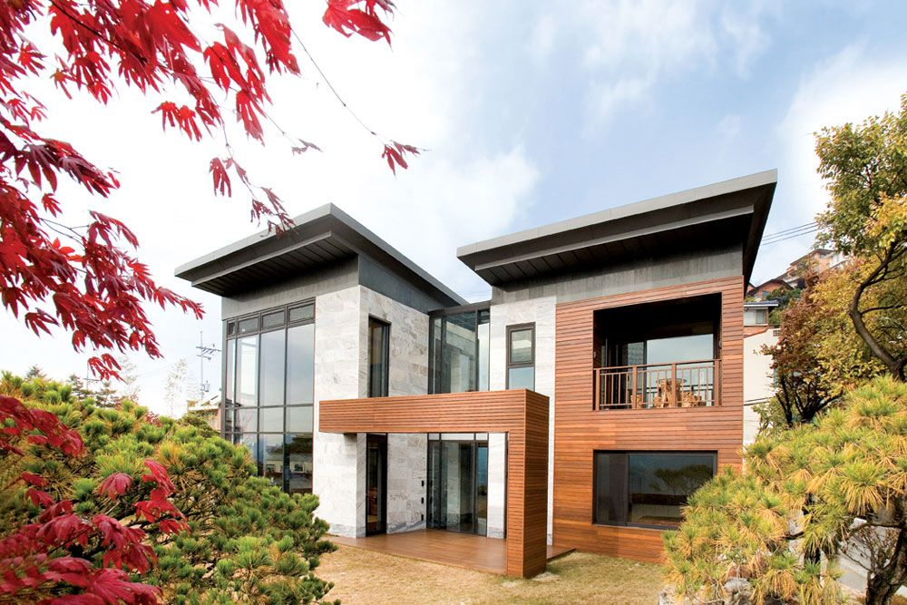 Wow 2 Story Home Designed By South Korean Architect Hahn