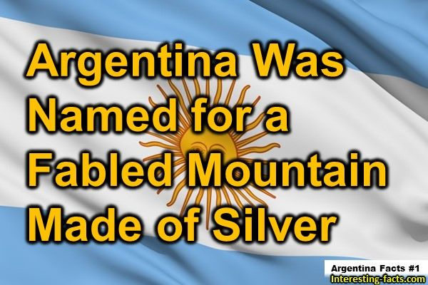 Argentina Facts # 1 | Facts About Argentina | Pinterest ...