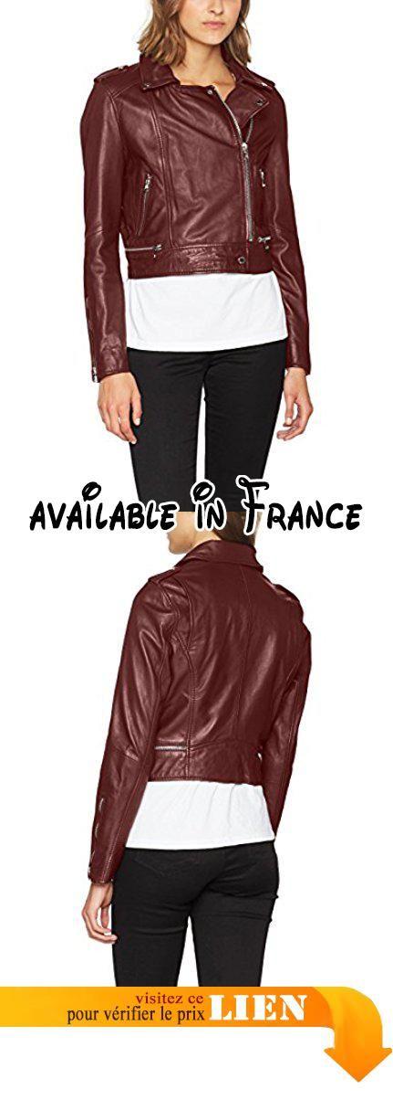 Oakwood 62326-540, Blouson Femme, Rouge (Bordeaux), Small (Taille Fabricant: S).  #Apparel #OUTERWEAR