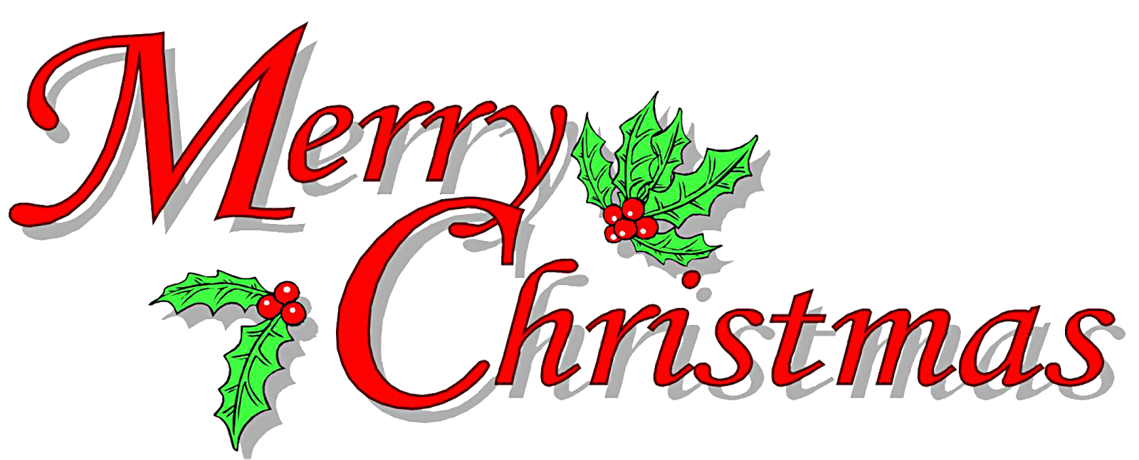 Funny Merry Christmas Fonts Clipart Greetings Images Clip Art Free Quotes Word Wrapping