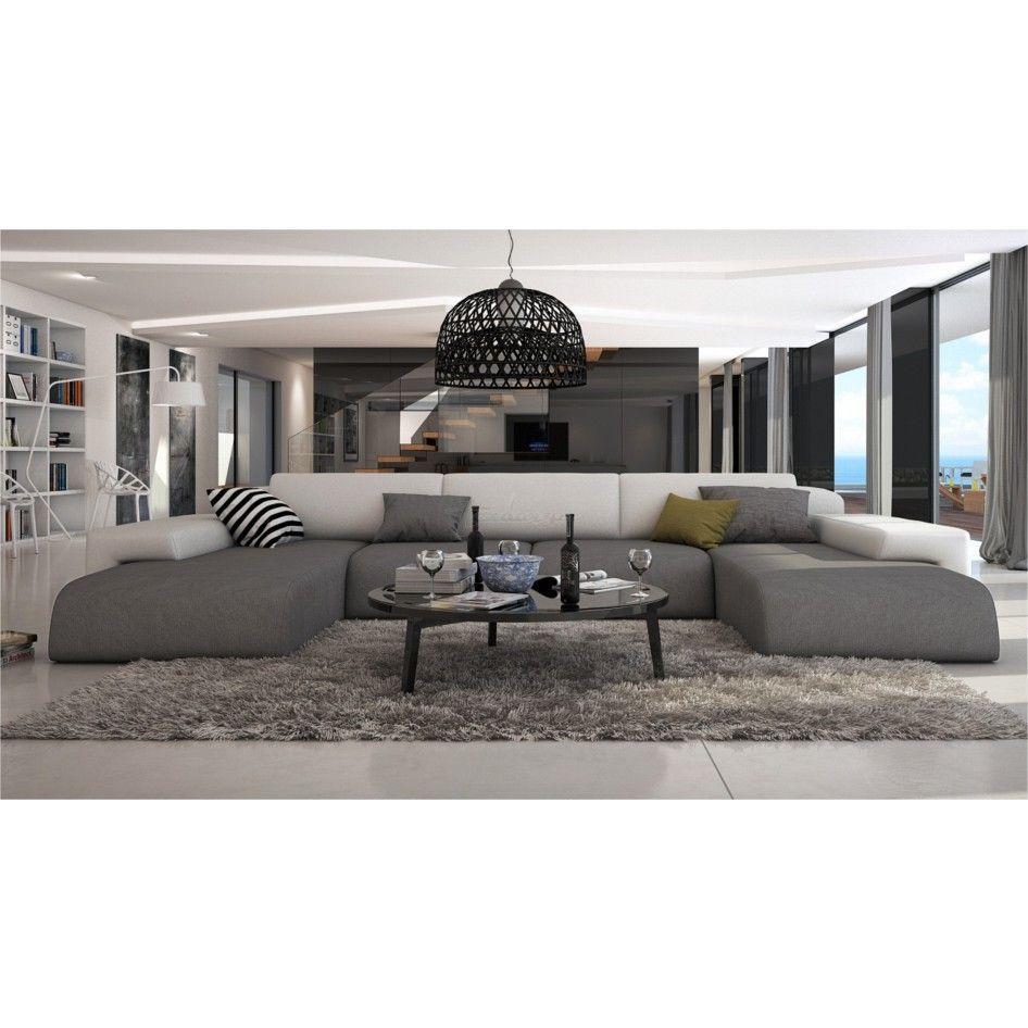 Grand Canape D Angle Moderne Pluton Xl V2 Sofa Sala De Estar