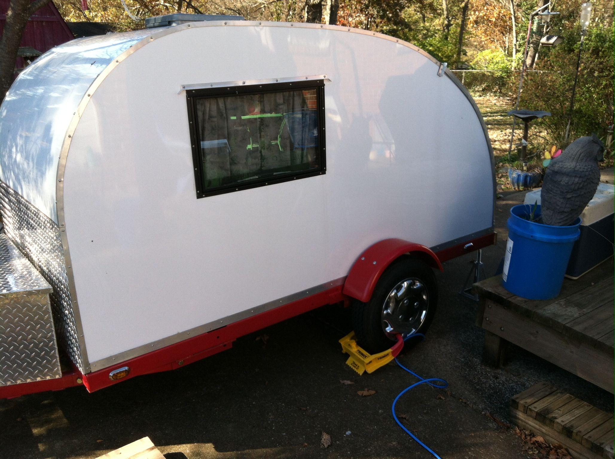 998 pounds of camping fun in a teardrop camper teardrop