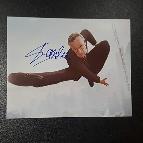 STAN LEE  Autographed Signed 8x10 inch Photograph Poster MARVEL CREATOR COA 2