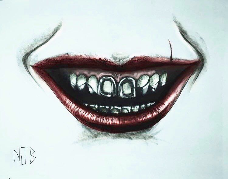 Close Up Of Jaredleto Joker Hand Tattoo Thebatbrand Joker