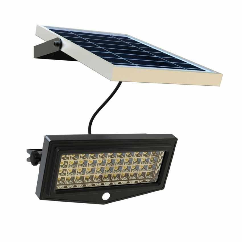 Faretto a muro luce led energia solare giardino sensore