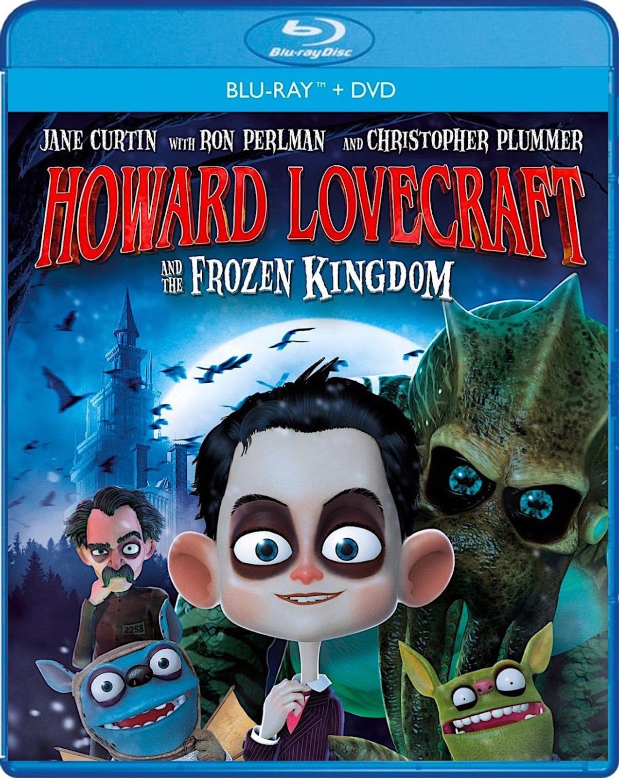 HOWARD LOVECRAFT AND THE FROZEN KINGDOM BLURAY Blu ray