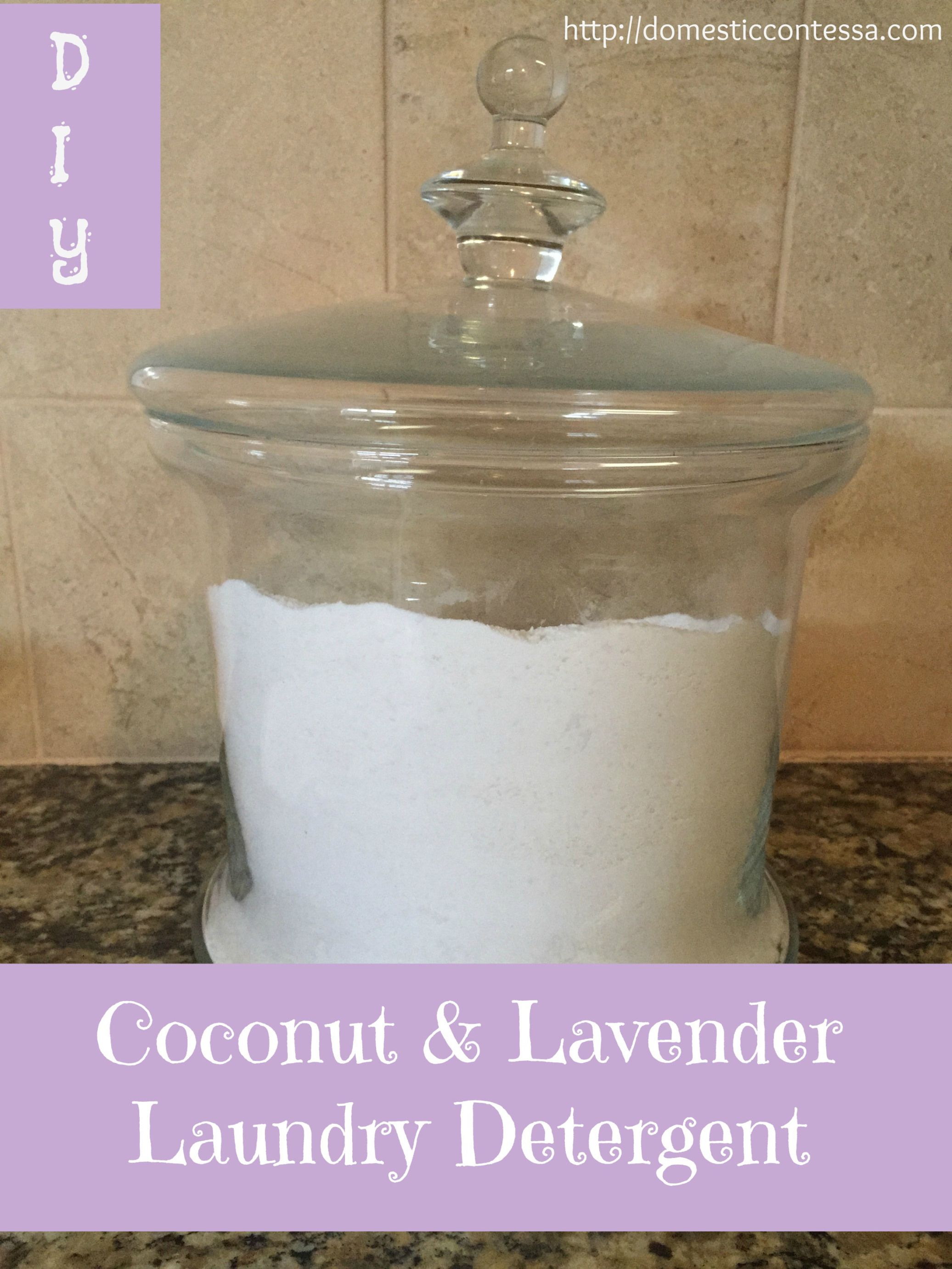 Coconut Amp Lavender Laundry Things I Make Homemade