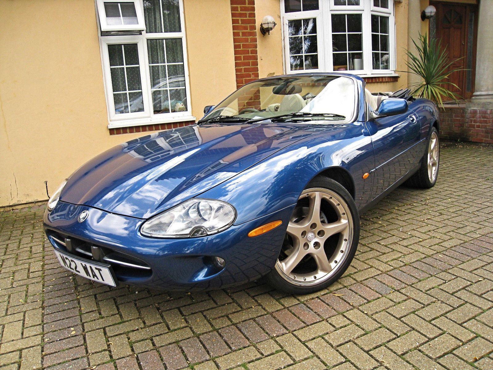 1997 jaguar xk8 40 convertible 290 bhp leather royal blue