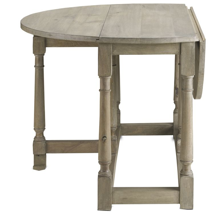 10 Drop-Leaf Tables Your Small Space Needs | Wood table, Gate and ...