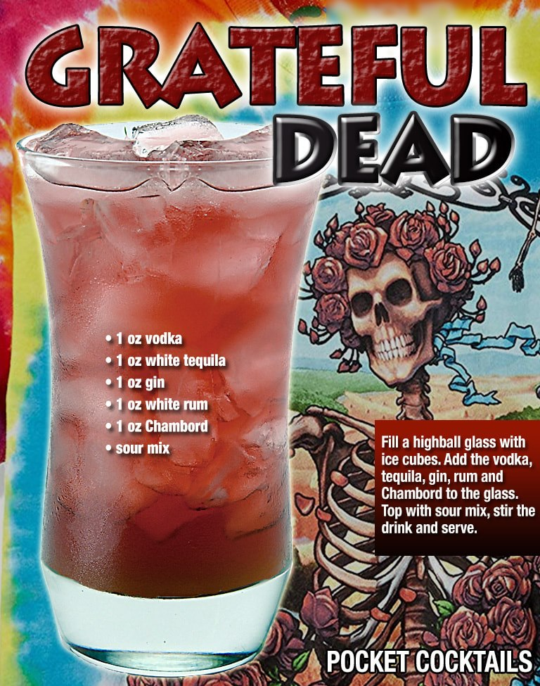 Grateful Dead Gin Cocktail Recipes Grateful Dead Cocktail Recipe Tipsy Bartender Recipes
