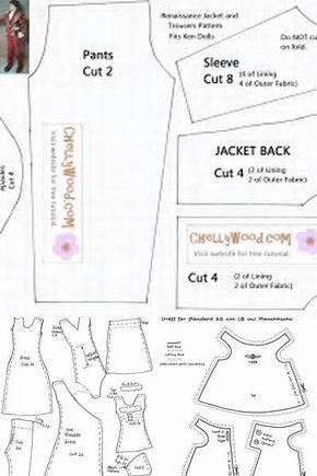 Lucrative image regarding 18 inch doll patterns free printable