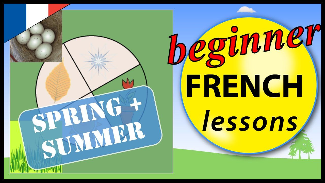 Spring and Summer in French | Beginner French Lessons for Children | the...