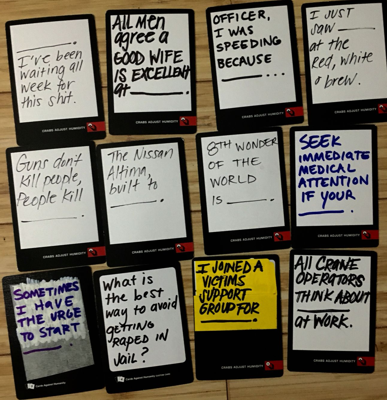 awesome ideas for black blank cards in cards of humanity
